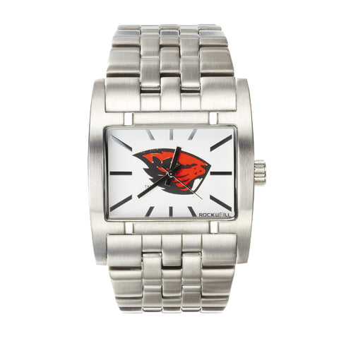 Oregon State Beavers Rockwell Apostle Watch - Stainless Steel