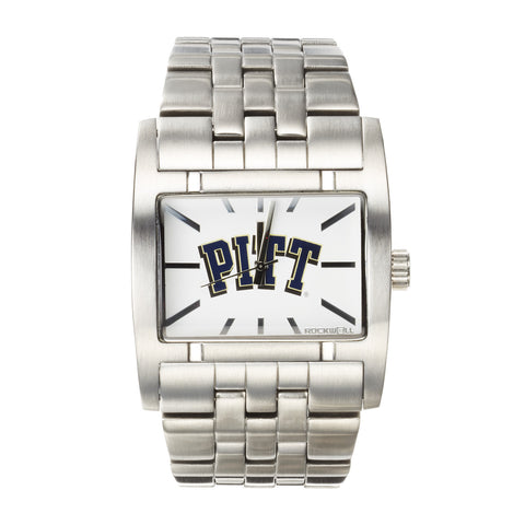 Pitt Panthers Rockwell Apostle Watch - Stainless Steel