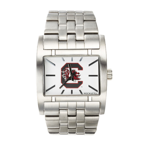 South Carolina Gamecocks Rockwell Apostle Watch - Stainless Steel