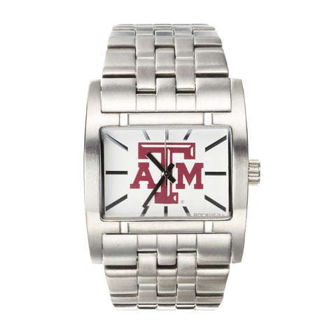 Texas A&M Aggies Rockwell Apostle Watch - Stainless Steel