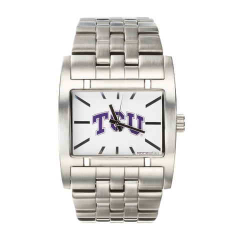 TCU Horned Frogs Rockwell Apostle Watch - Stainless Steel