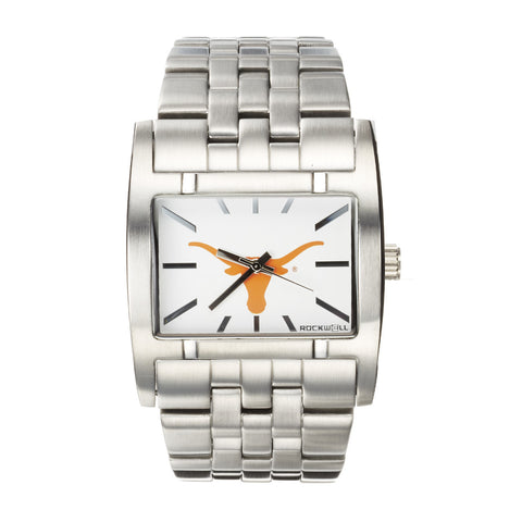 Texas Longhorns Rockwell Apostle Watch - Stainless Steel