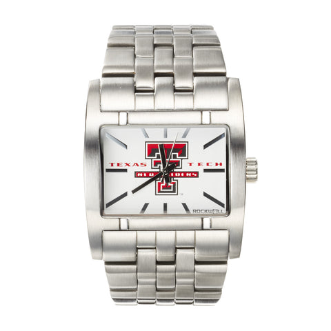 Texas Tech Red Raiders Rockwell Apostle Watch - Stainless Steel