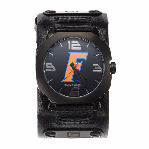 Florida Gators Rockwell Assassin Watch - Genuine Leather and Stainless Steel