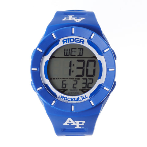 Air Force Falcons Rockwell Coliseum Digital Sport Watch - Blue