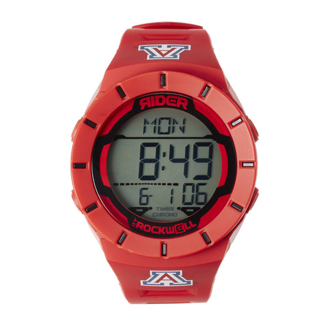 Arizona Wildcats Rockwell Coliseum Digital Sport Watch - Red