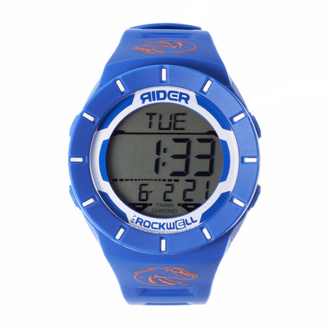 Boise State Broncos Rockwell Coliseum Digital Sport Watch - Blue