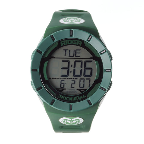 Colorado State Rams Rockwell Coliseum Digital Sport Watch - Green