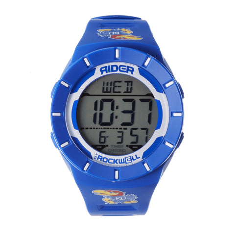 Kansas Jayhawks Rockwell Coliseum Digital Sport Watch - Blue