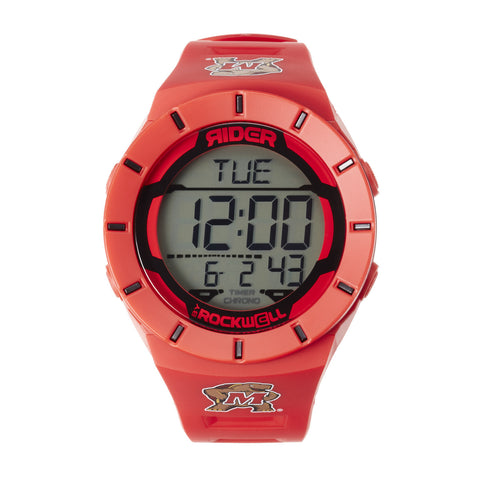 Maryland Terrapins Rockwell Coliseum Digital Sport Watch - Red