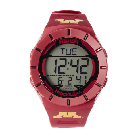 Minnesota Golden Gophers Rockwell Coliseum Digital Sport Watch - Maroon