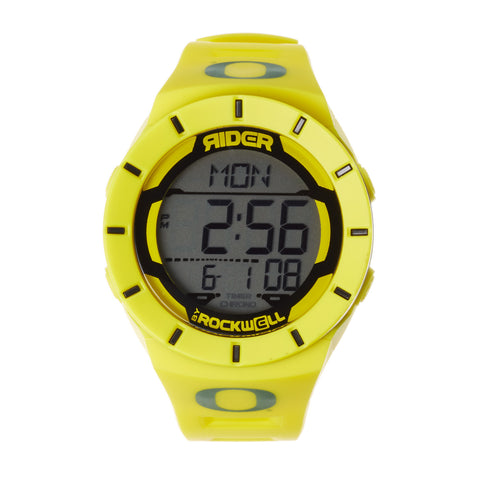 Oregon Ducks Rockwell Coliseum Digital Sport Watch - Optic Yellow