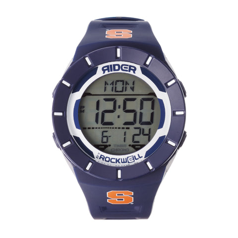 Syracuse Orange Rockwell Coliseum Digital Sport Watch - Navy