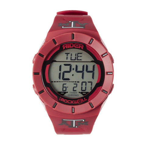 Texas A&M Aggies Rockwell Coliseum Digital Sport Watch - Maroon