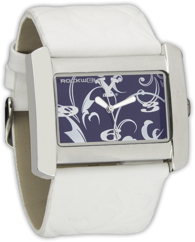 BYU White/Blue Vanessa Wrist Watch