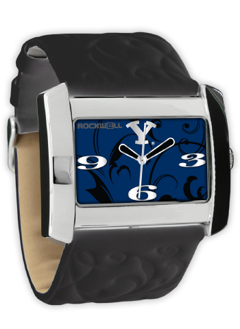 BYU Black/Blue Vanessa Wrist Watch