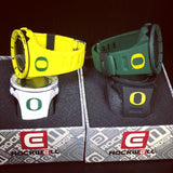 Oregon Ducks Coliseum - Optic Yellow
