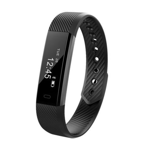 Men Women Smart band Pedometer Bracelet Step Counter Fitness Bracelet Alarm Clock Smart Wristband Watch