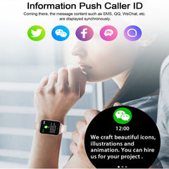 F25 Smart Watch Body Temperature Measure Heart Rate Fitness Tracker Smart Bracelet Women Men Sports Smartwatch For iOS Android