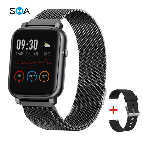 SMAWATCH Smart Watch Smartwatch Men Women 2020 IP68 Swimming Waterproof Alloy Full touch Women's Smartwatch Watch Smart Watches