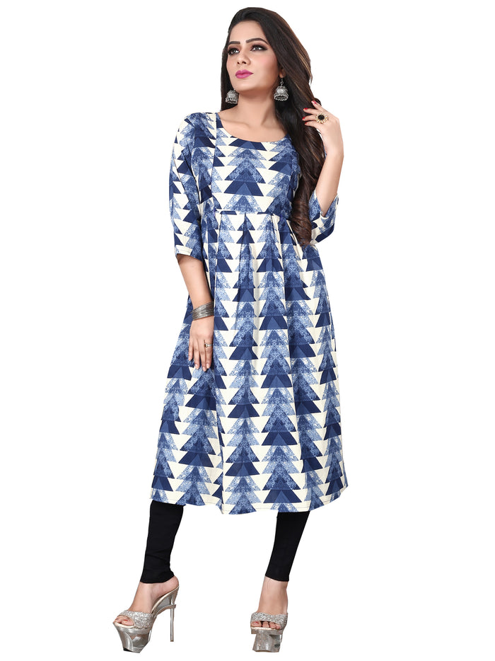 Irina Vol 04 Blue Colour Cotton Kurti