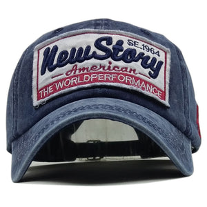 Men and Women  cloth kind of summer baseball cap new stary washed do sell barrels hot style baseball cap speed