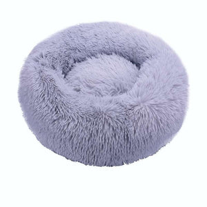 Soft Long Plush Dog & Cat Bed