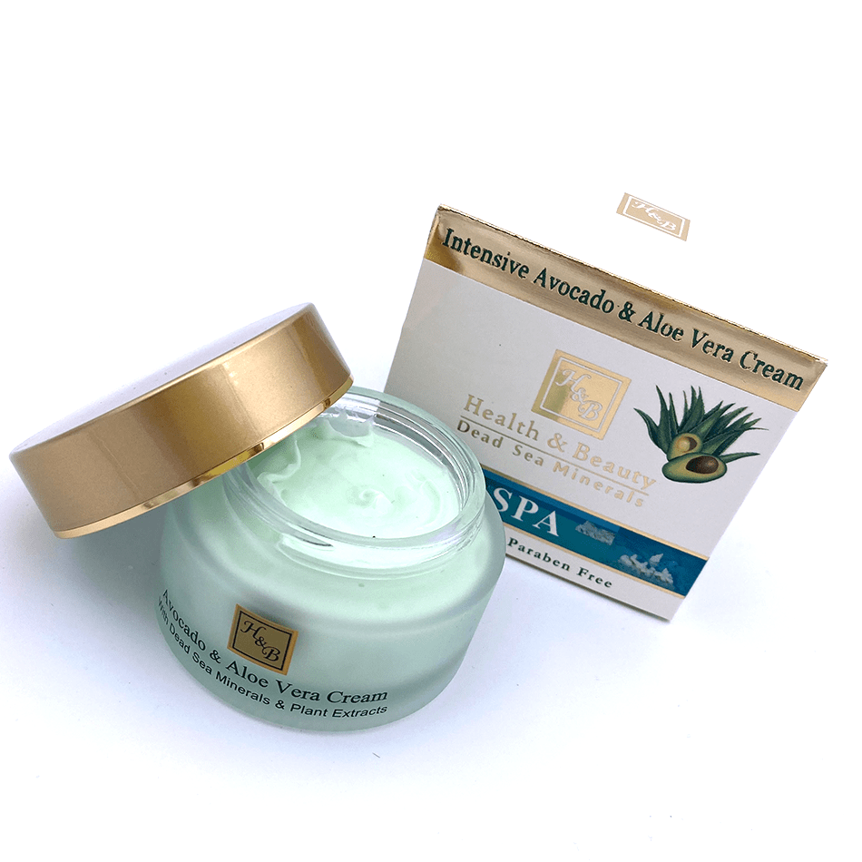 Dead Sea Intensive Avocado & Aloe Vera Cream / 50ml