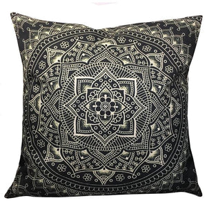 Decorative Pillow Covers Hamsa Hand Cotton Linen Pillow Cases Square Sofa Throw Pillowcases Seat Cushion Covers