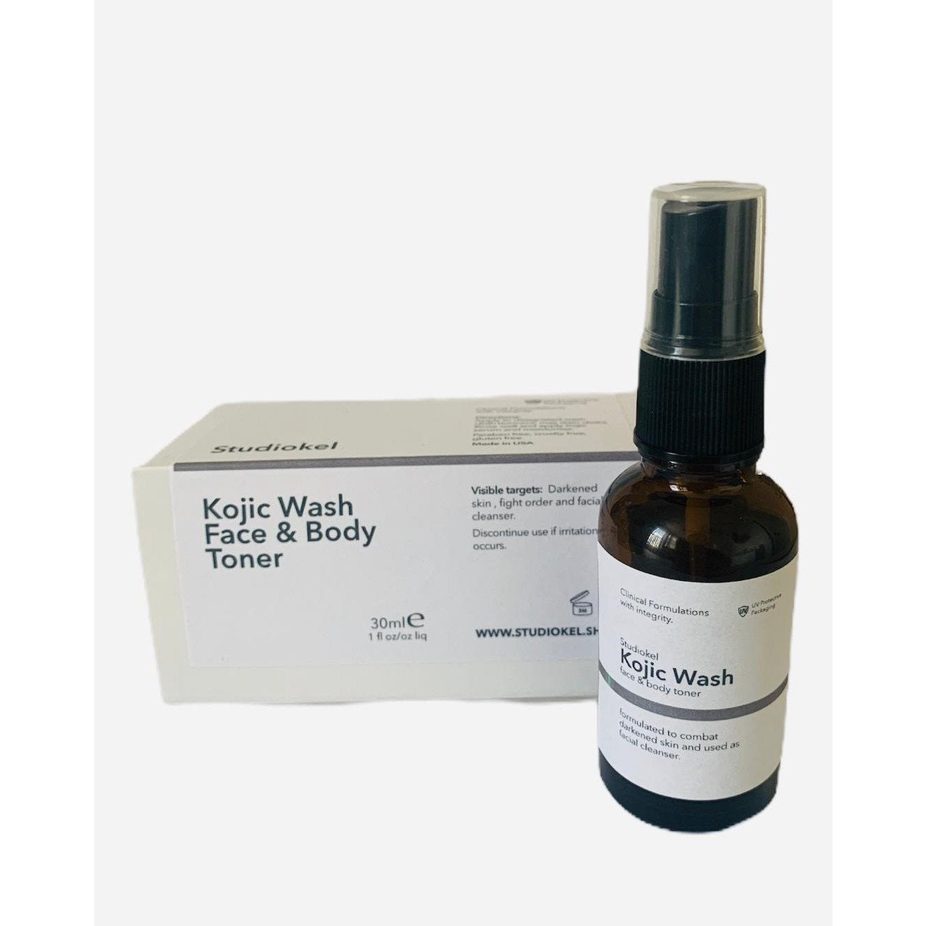 Kojic Wash Face and Body Toner