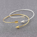 Punk Arrow Wrap Cuff Bracelets For Women Sample