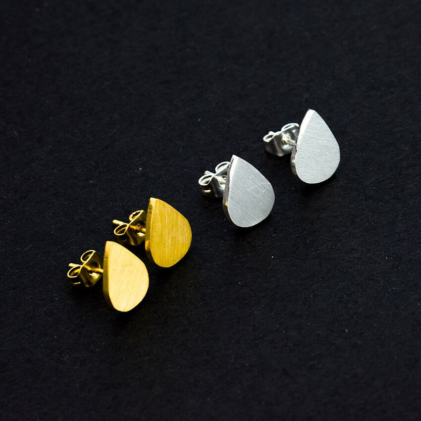 Simple Waterdrops Earrings For Women Stainless