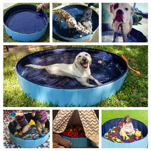 Dog Pool Foldable Dog Swimming Pool Pet Bath Swimming Tub Bathtub Pet Collapsible Bathing Pool for Dogs Cats Kids Drop Shipping