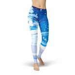 Jean Snowy Trees Leggings