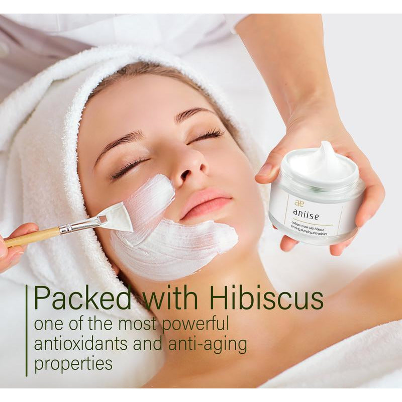 Collagen Facial Mask with Hibiscus