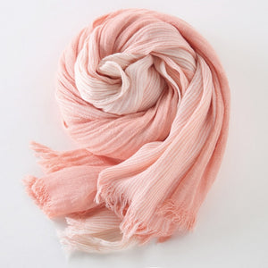 Men Women Cotton Scarves