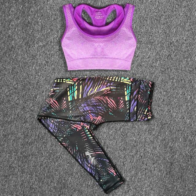 Bra and Legging Workout Sets