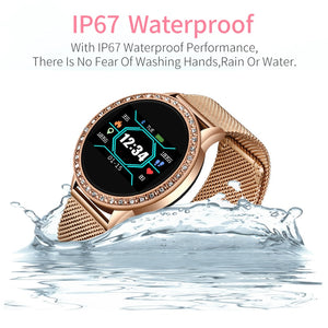 Fashion smart watch women men Sport waterproof clock Heart rate sleep monitor For iPhone Call reminder Bluetooth smartwatch