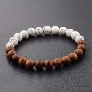 8mm New Natural Wood Beads Bracelets