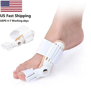 2Pcs Toe Protector Feet Care Big Toe Splint Straightener