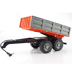 RC Tractor 1/16 RC Truck Farm Tractor 2.4G Remote Control Trailer Dump/Rake/Water Truck Simulated Large Construction Vehicle Toy