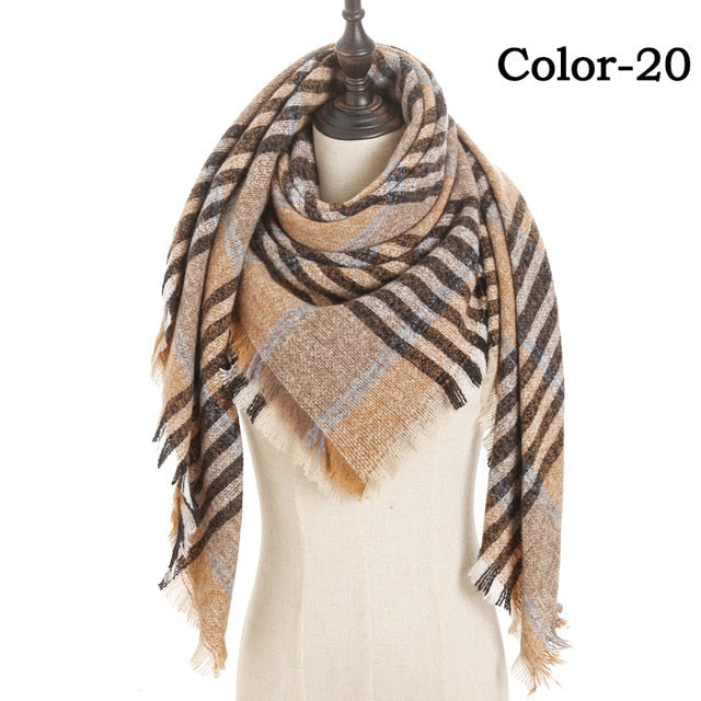 Cashmere Acrylic Scarves