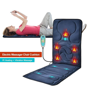Massage Mat with 9 Vibrating Motors