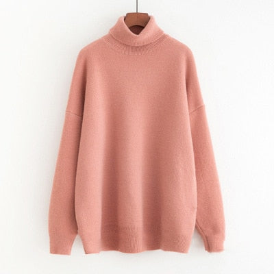Thick Warm Pullover Oversized Knitwear Sweater