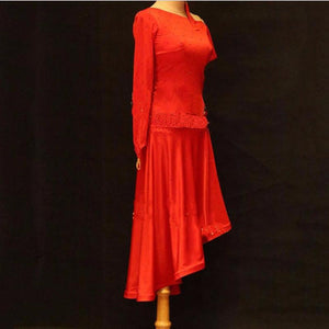 Ballroom Dance Dress Women Regata Feminina Flamenco Dresses
