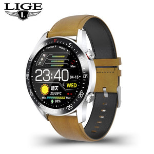2021 New Full circle touch screen Mens Smart Watches IP68 Waterproof Sports Fitness Watch Man Luxury Smart Watch for men