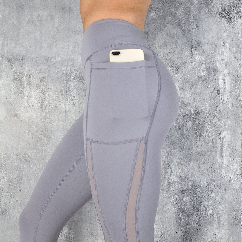 High Waisted Ankle-Length Fitness Leggings