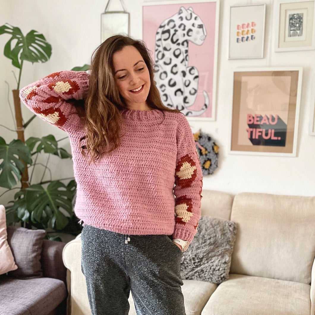 Spot On Sweater Crochet Pattern