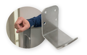 Stainless Steel Hands-Free Forearm Door Opener