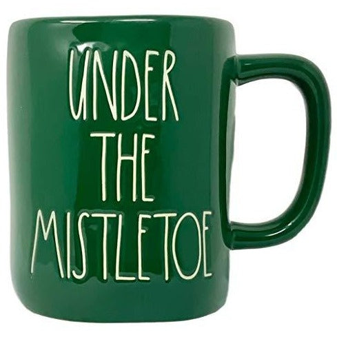 UNDER THE MISTLETOE Mug